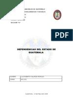 ORGANIZACIÓN DEL PODER EJECUTIVO DEL ESTADO DE GUATEMALA revA