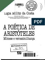 A Poetica de Aristoteles Mimese e Verossimilhanca Ligia Militz Da Costa