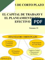 FCP 10 y 11 Capital de Trabajo Planeamiento Del Efectivo