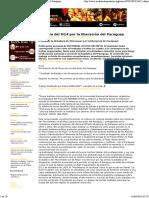 CMI Brasil - Historia Del M14 Por La Liberación Del Paraguay