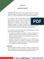CAPITULO VI MEDICION DE CAUDALES AAMP.pdf