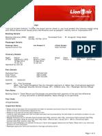 8.Lion Air ETicket (JVRIZK) - Sapang