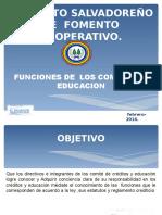 COMITE DE EDUCACION  Y SUS ATRIBUCIONES 2016.ppt