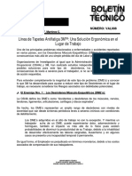 Boletin Tecnico Tapete Antifatiga 3M 5100