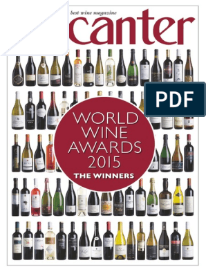 Decanter Wine Magazine 2015 Vitis Crops Originating From