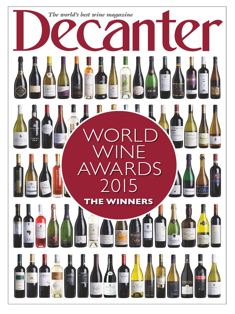 Decanter Wine Magazine 2015 Alcoholic Drinks Crops Originating From Europe