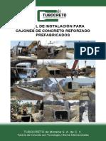 TUBOCRETO ManualDeInstalacion Cajones V2