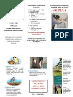 Leaflet PSN (Pemberatasan Sarang Nyamuk) DBD (Demam Berdarah Dengue)