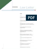 8 Law Letter 2009