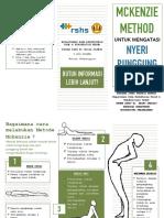 Leaflet McKenzie Method
