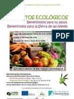 Cartel Jornada Alimentos Ecologicos