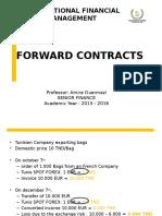 Chapter 3 FORWARD CONTRACTS Part 1 (1) [Enregistrement Automatique]