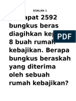 Soalan Peny Mslh Bahagi Thn 4