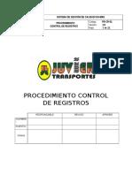 02. Procedimiento Control de Los Registros