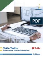 2016 Tekla Tedds Brochure