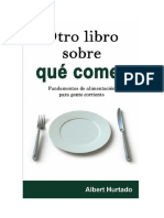Hurtado Albert - Otro Libro Sobre Que Comer