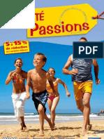 Brochure Passions Ete 2010