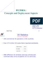 WCDMA Concepts and Deployment Aspects