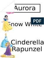 Nama Kumpulan princess