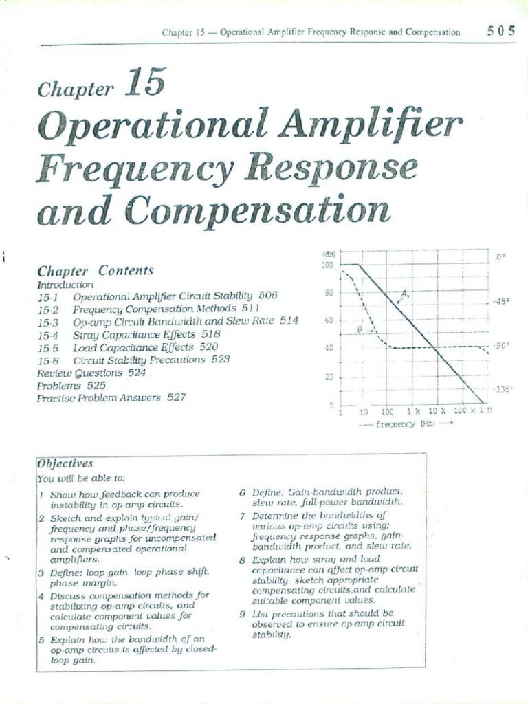 4. Chapter 15-21   Operational Amplifier   Amplifier