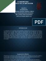 Presentacion Del Modelo Inflacion