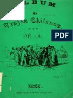 Album Trajes Chilenos 1838