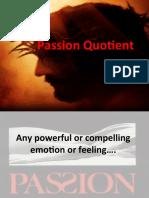 Passion Quotient