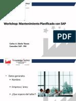 SAP PM Workshop