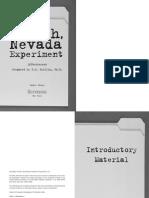 Push, Nevada - The Experiment