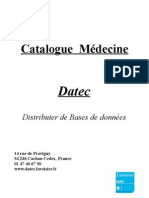Catalogue Medecine