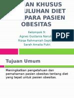 Tujuan Umum Dan Tujuan Khusus Penyuluhan Diet Bagi Para Pasien Obesitas