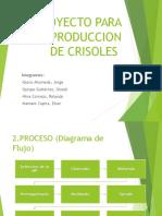 Proyecto Para La Produccion de Crisoles y Copelas