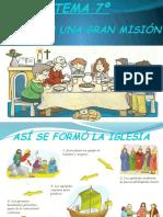 TEMA 7º Descubro La Gran Misión de La Iglesia