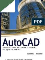 Autocad 2009 Kullanım Talimatı ve Eğitim Kitabı