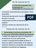 Protección de Motores de CA