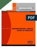 Understanding Labour Issues in Pakistan Dec 2009