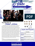 em phd spring newsletter - townsend