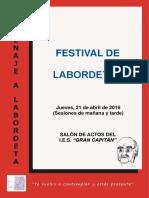 Festival de Labordeta