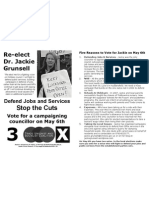 5 Reasons to Vote for Jackie
