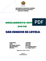 Reglamento Interno SIL