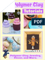 24 Polymer Clay Tutorials