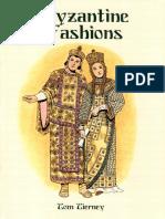 [Dover] History of Fashion - Byzanthine Fashions