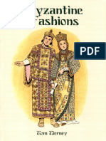 [Dover] History of Fashion - Byzanthine Fashions