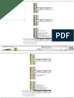 Detalles constructivos Sistema f+p de jardines verticales.