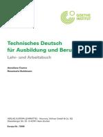 Technisches Deutsch für Ausbildung und Beruf