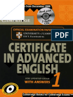 Certificate in Advanced English 1 (Book)