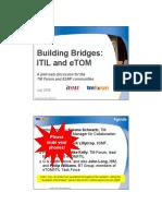 Building Bridges ITIL and ETOM