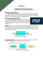 Instrumentation & Control Handout