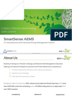 AEMS. Smartsense Advanced Energy Management System