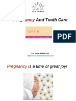 Pregnancy and Tooth Care